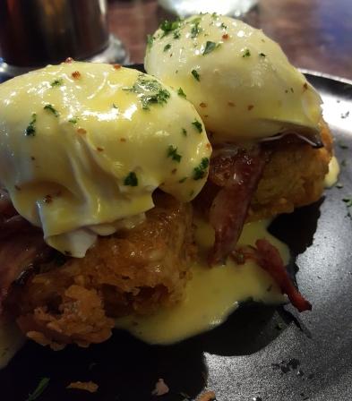 Potato Rosti Eggs Benedict