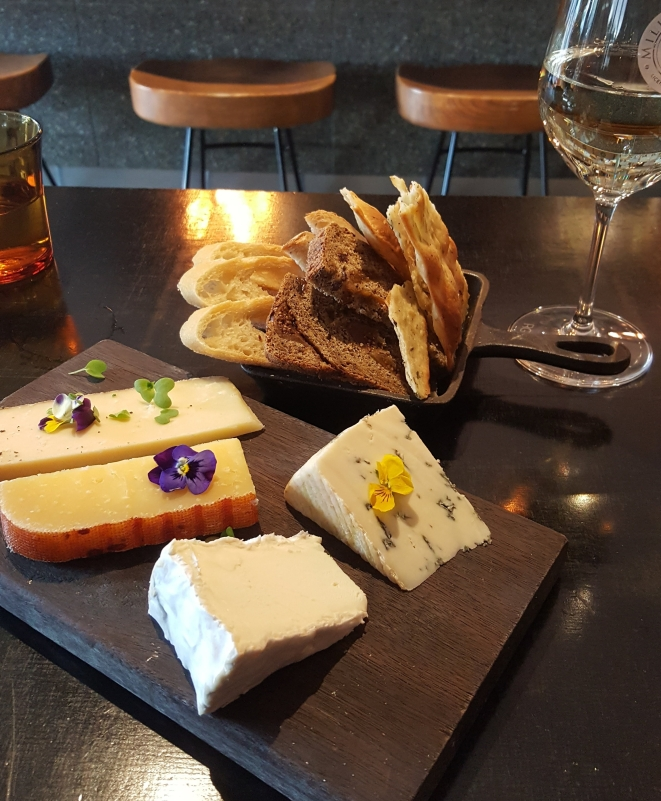 Cheese plate at Milk the Cow